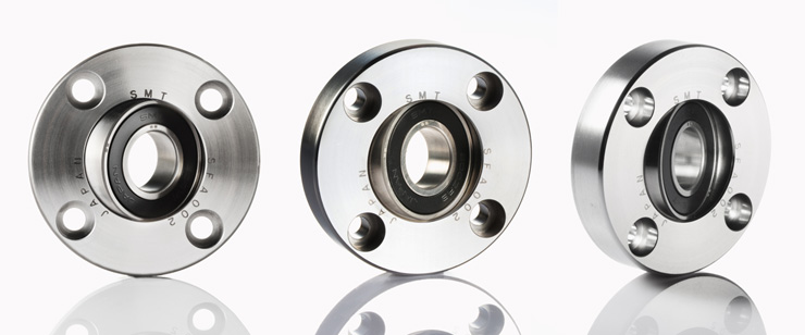 SF series AISI440C Flanged Bearing Units